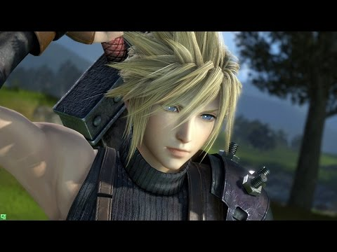 Dissidia Final Fantasy NT Cloud Strife Exclusive Gameplay