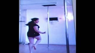 Reverse pole dancer.