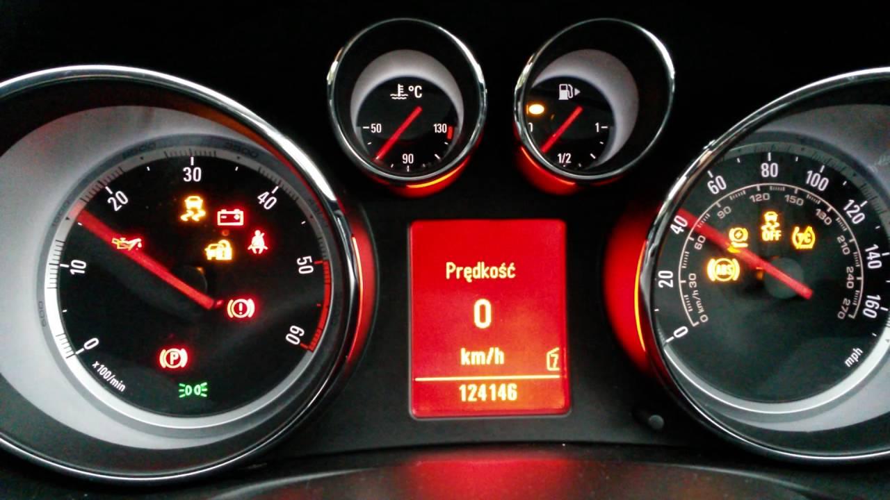 Opel Insignia Low Oil Pressure Niskie Cisnienie Oleju Youtube
