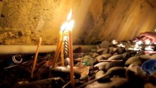 Жители Лазаревской зажгли свечи в памяти жертв авиакатастрофы(26.12.2016)