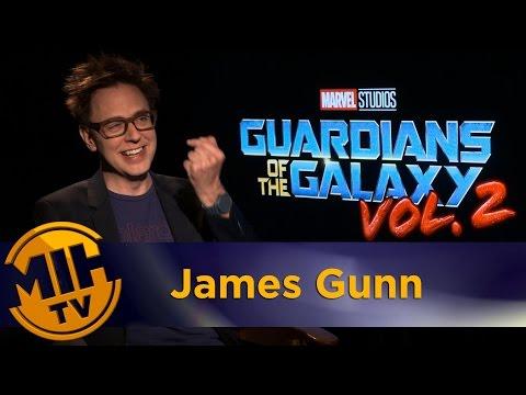James Gunn Guardians of the Galaxy Vol. 2 Interviews