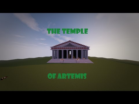 The Temple of Artemis- Minecraft Seven Wonders