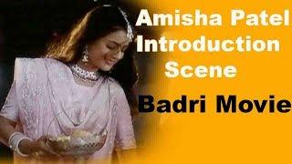 Amisha Patel Introduction Scene - Badri Movie || Pawan Kalyan Renu Desai, Amisha Patel