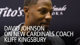 David Johnson On New Cardinals Coach Kliff Kingsbury