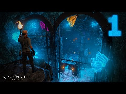 Walkthrough — Adam's Venture: Origins — Part 1 — [ 1080P 60FPS ]