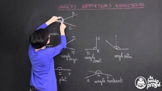 comment dessiner un angle de 60°