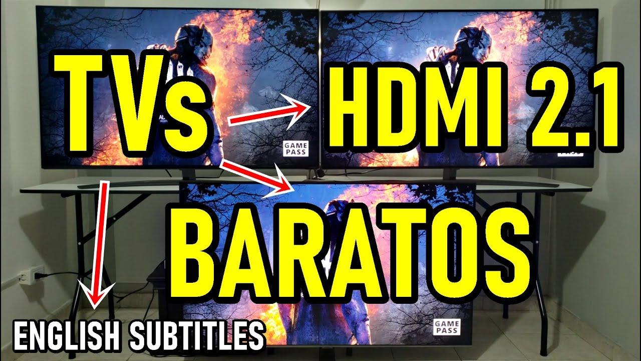 TELEVISORES para GAMING BARATOS con HDMI 2.1: PS5, Xbox Series X, Gráficas de PC - ENGLISH SUBTITLES