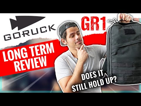 Goruck GR1 21L Long-Term Review | Still one of the best EDC Backpacks?