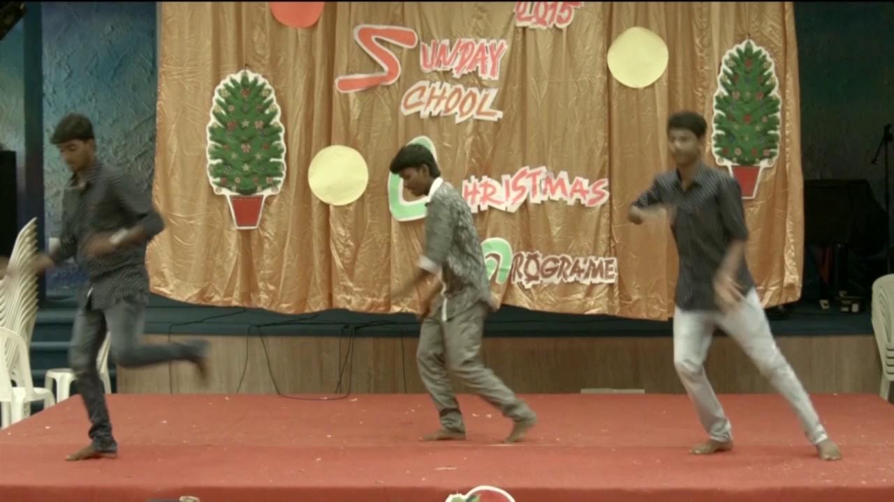 rsag church sunday school christmas programs dance balan yesu