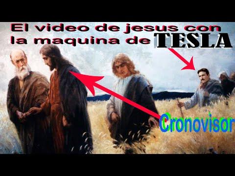 La FILMACION de Jesus con la maquina del tiempo de NIKOLA TESLA