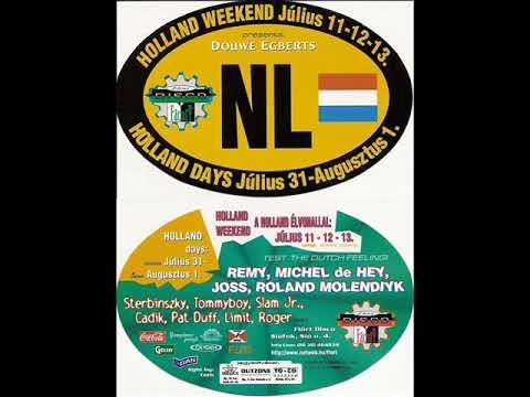 Holland Weekend (Michel De Hey) @ Flört Disco, Siófok, Hungary 1997.07.12