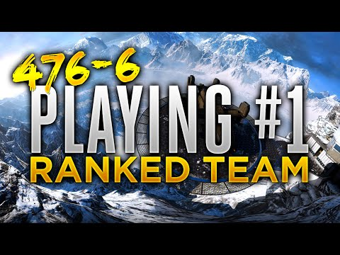 1v1 HP vs Number 1 Team! 476-6