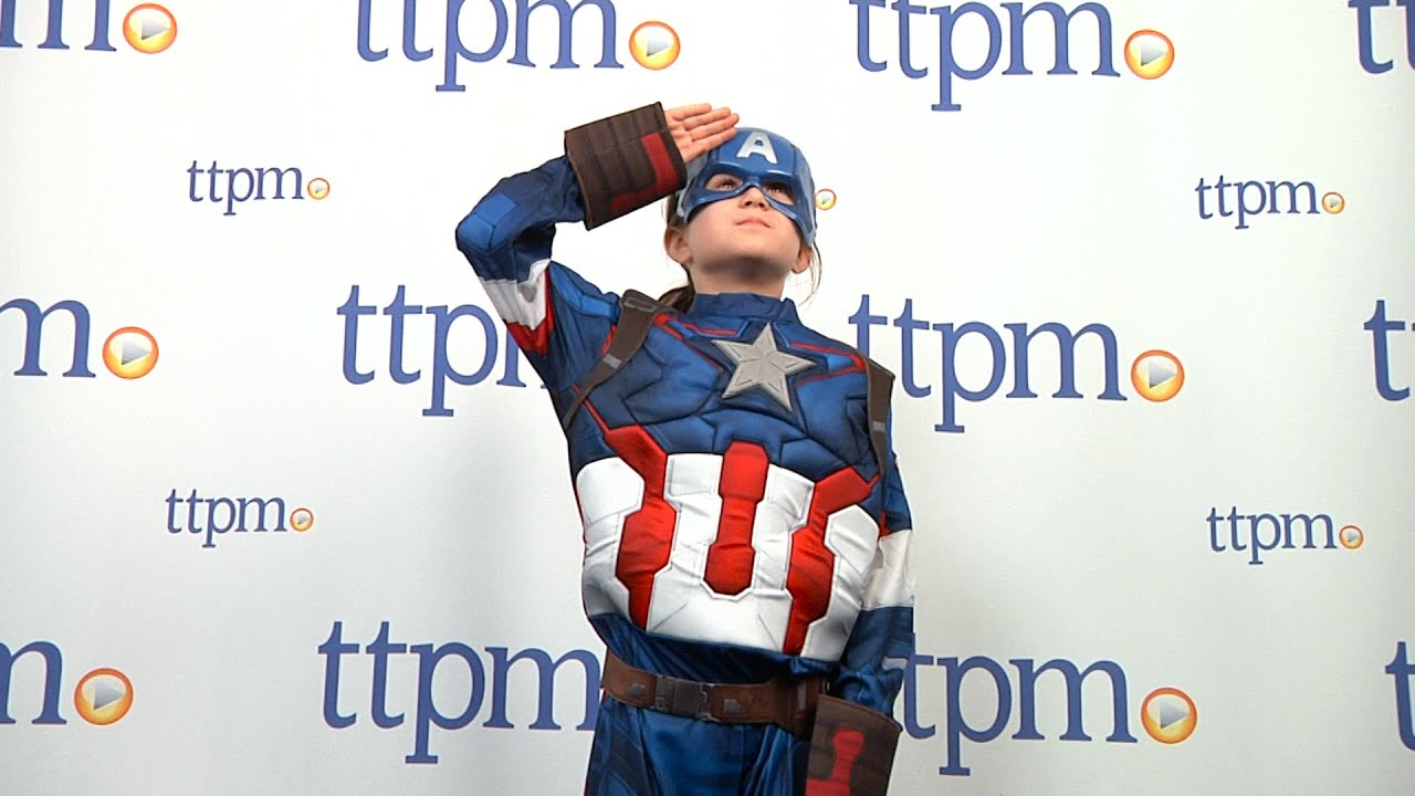 Marvel Captain America Costume From Rubies Youtube Rubies kids official deluxe captain marvel kree or hero 3d. marvel captain america costume from rubies