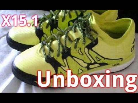 unboxing-adidas-x15.1-indoor-soccer-shoes