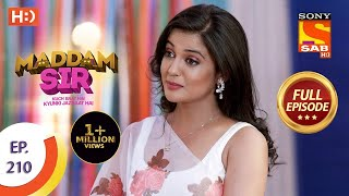 Maddam Sir - Ep 210 - Full Episode - 31st March, 2021