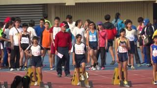 103年縣長盃田徑賽小女100公尺決賽