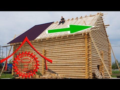 Как проверить диагональ крыши видео
