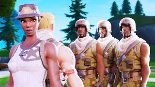 trying out for *NEW* RAREST SKIN CLAN as a NO SKIN, then showing RECON EXPERT... (they freaked out!)