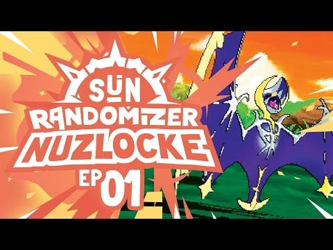 LEGENDARY STARTER POKEMON?! - Pokémon Sun Randomizer Nuzlocke W/ Supra! Episode #01