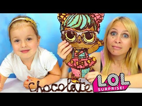 DIY Chocolate LOL Surprise Dolls