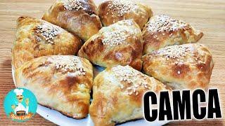 Домашняя слоеная самса: рецепт приготовления самсы из слоеного теста (Qatlama somsa)