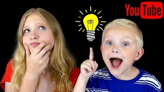 YouTube Channel Ideas For Kids! (Ideas For Starting A YouTube Channel For KIDS)