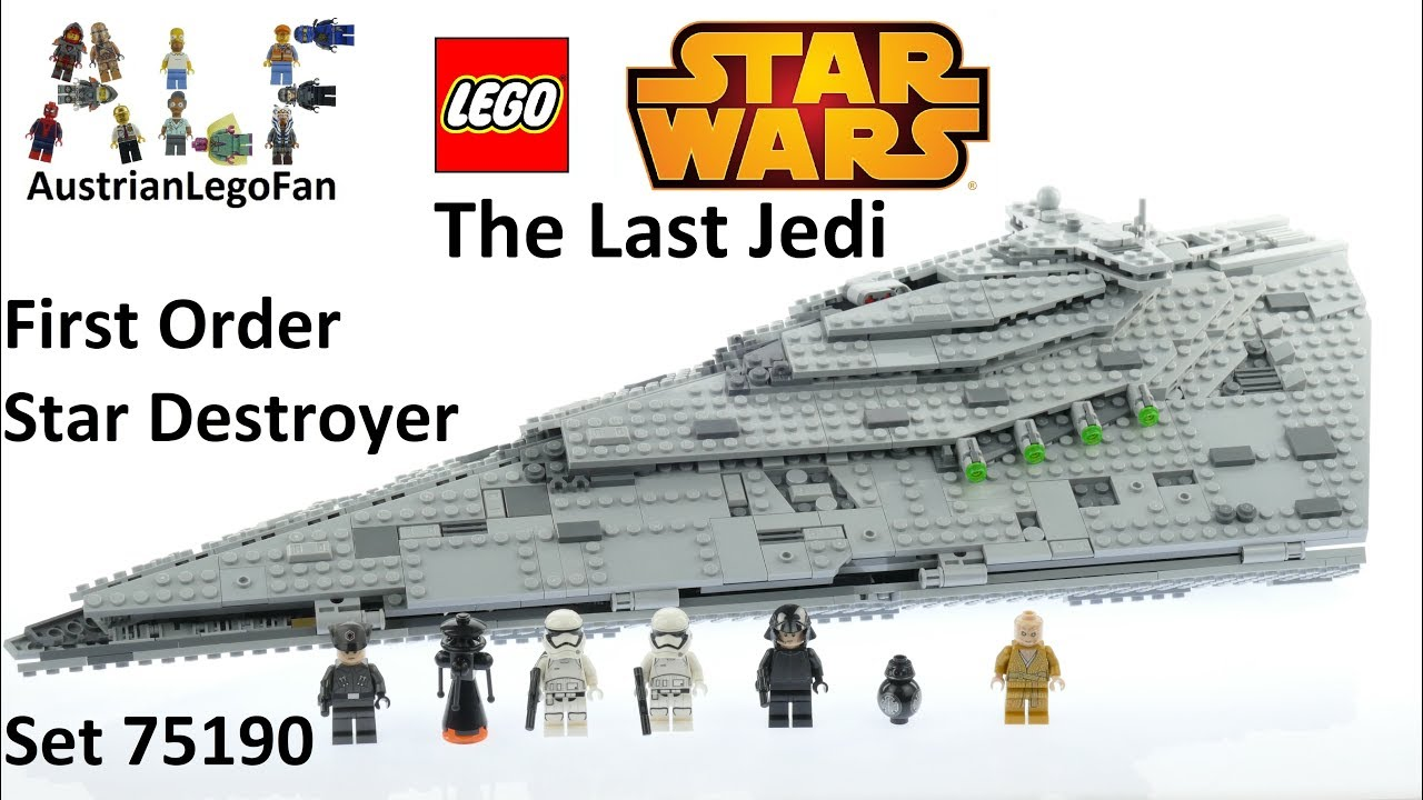 Lego star wars 75190 review