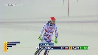Petra VLHOVA 2nd run WINNER SL - LEVI (FIN) 2017