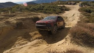 Jeep Cherokee TrailHawk & JK Willys Cleghorn Off-Road Trail 01.14.18