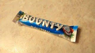 ОБЗОР ШОКОЛАДНОГО БАТОНЧИКА БАУНТИ (Bounty Mars Inc coconut candy review)