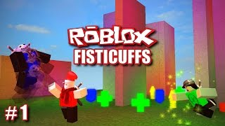 PUNCH PEOPLE (Roblox: Fisticuffs #1)