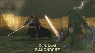 Dark Lord GANONDORF Boss Fight - The Legend of Zelda: Twilight Princess HD
