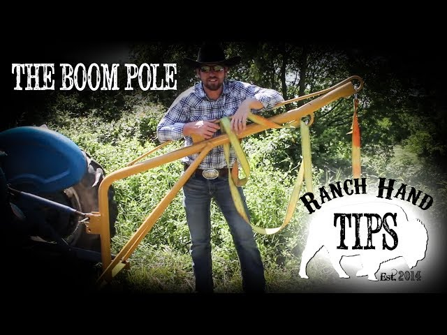 The Boom Pole Tractor Implement: Ranch Hand Tips