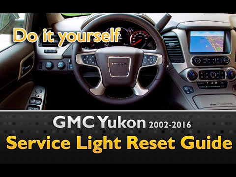 GMC Yukon Oil Life Service Light Reset