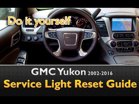 gmc yukon oil life service light reset youtube rh youtube com 2009 GMC Acadia Firing Order GMC Savana
