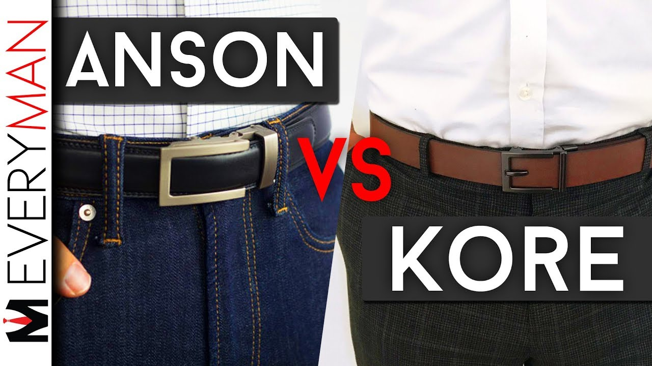 Anson Belts Vs Kore Essentials Which Belts Are Best Ratchet Belt Comparison Honest Reviews Youtube The kore trakline gun belt has a polyurethane core for increased stiffness and a ratcheting system for 1/4 inch adjustability. anson belts vs kore essentials which belts are best ratchet belt comparison honest reviews