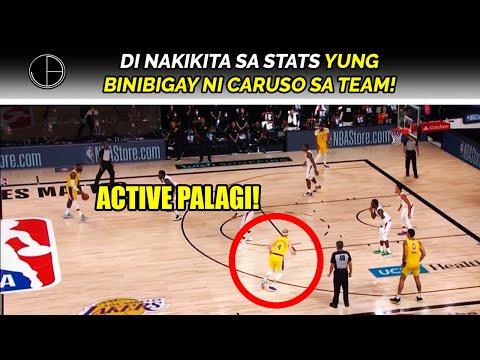 Paano NAKATULONG SI ALEX CARUSO sa panalo ng Lakers kontra Clippers | INTANGIBLES na inaambag niya!