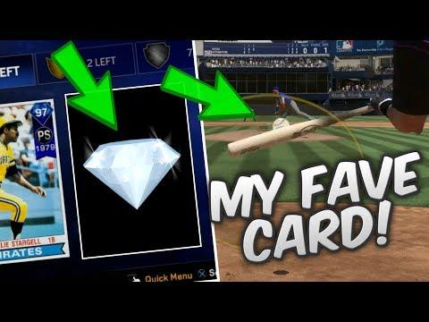MY FAVORITE 99 DIAMOND FROM LAST YEAR STILL RAKES! | MLB THE SHOW 17 DIAMOND DYNASTY