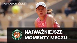 Świątek/Mattek-Sands - Hsieh/Mertens | 3. runda | Skrót meczu | Roland Garros