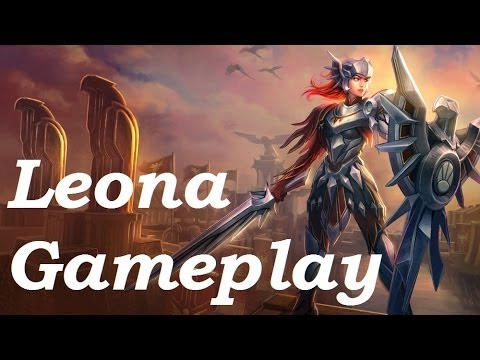 Iron Solari Leona (Support) Gameplay & Commentary - 5v5 - League of Legends