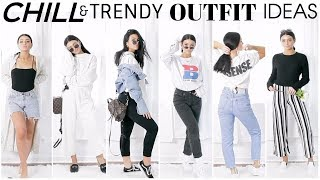 Look HOT with NO EFFORT for SCHOOL | Comfortable Trendy Outfit Ideas!