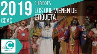Chirigota, Los que vienen de etiqueta - Cuartos