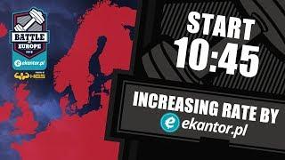 Ekantor.pl Battle of Europe vol.2 / WOD2: increasing rate
