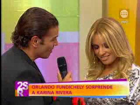 Orlando Fundichely sorprendió a Karina Rivera con romántico detalle por el Día de la madre