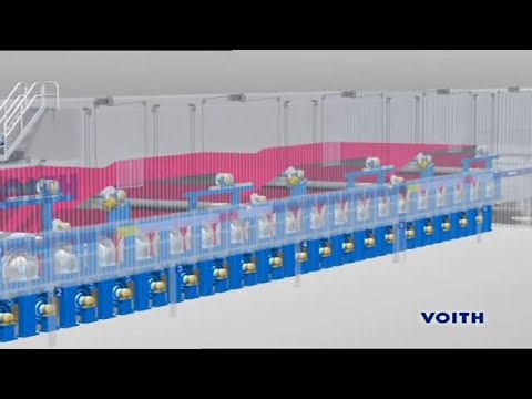Voith Paper Production Process Packaging Paper Machine (EN)