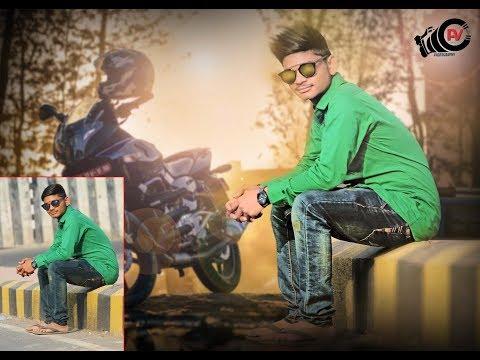 Photoshop Photo editing | Background changing | Photoshop Tutorial||AV Edit||