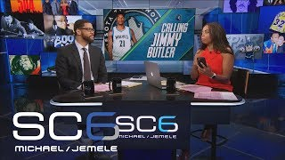The Six Attempts To Call Jimmy Butler On-Air | SC6 | June 29, 2017