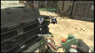 Call Of Duty Black Ops - Funny way to humiliate an enemy player ( Funny Clip )