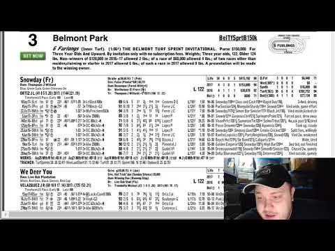 WHO IS GOING TO WIN? Belmont Super Saturday Jockey Club Gold Cup 2017