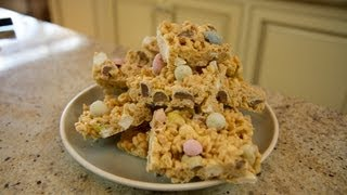 Candy Avalanche Bars - Easter Dessert